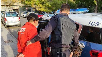 Detenido en Palma tras agredir a su pareja y retener en la vivienda a sus hijos