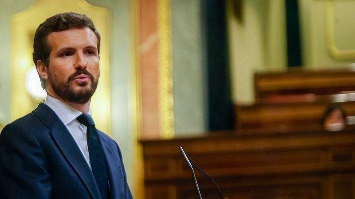 Casado defiende la 'abstención crítica' en el estado de alarma para no 'avalar el atropello legal' de Sánchez