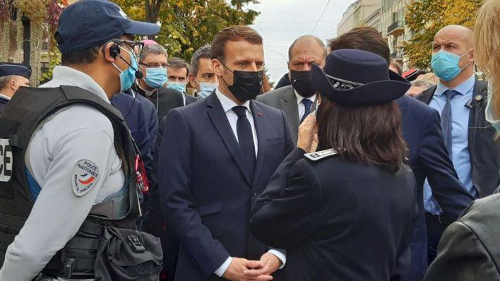 Macron habla de 'ataque terrorista islamista' y saca a 7.000 soldados a las calles