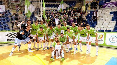 El Palma Futsal acumula tres años sin conocer la derrota frente al FC Barcelona