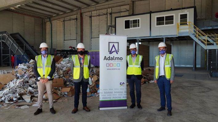 Adalmo invierte 3,3 millones en la nueva planta de gestión residuos de Bunyola
