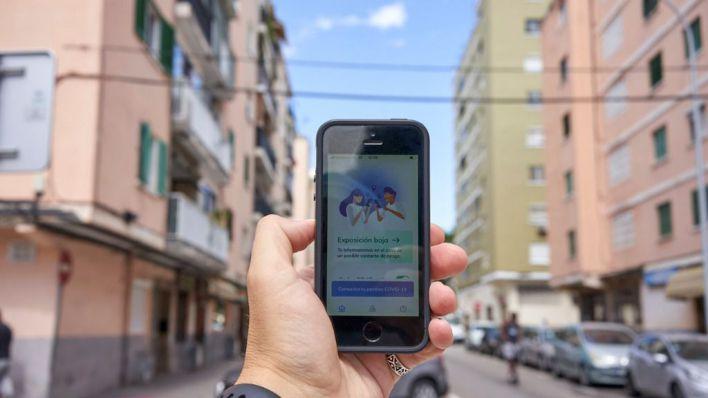 'Radar Covid' ha advertido a los contactos estrechos de 586 positivos en Baleares