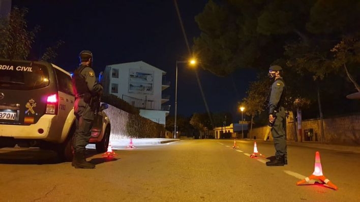 Guardia Civil y Policía Local de Selva intensifican los controles nocturnos
