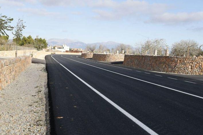 Abierta al tráfico la variante de Algaida, que desviará los vehículos que atravesaban el núcleo urbano