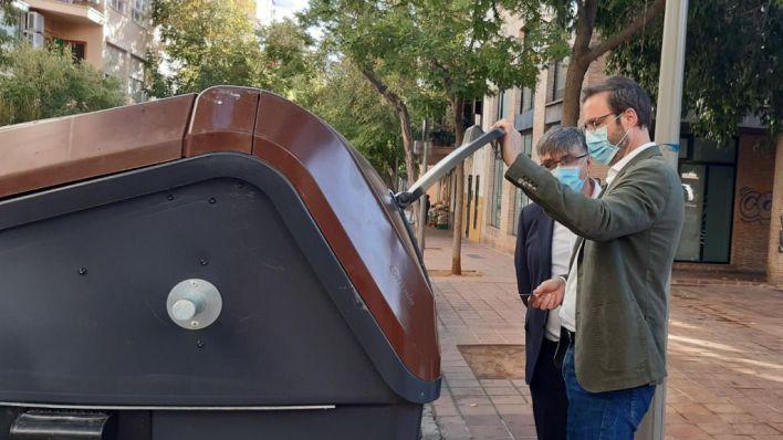 Emaya extiende a Santa Catalina la implantación de contenedores de materia orgánica