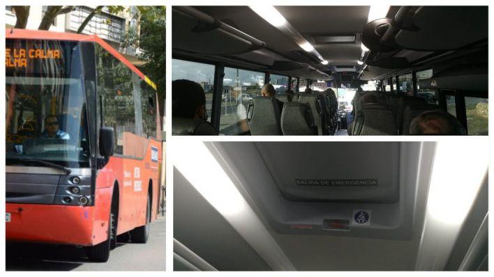 Quejas de usuarios por las ventanas cerradas en autobuses: