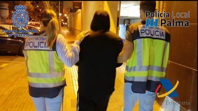 Desmantelados dos puntos de venta de drogas en Playa de Palma y s'Arenal