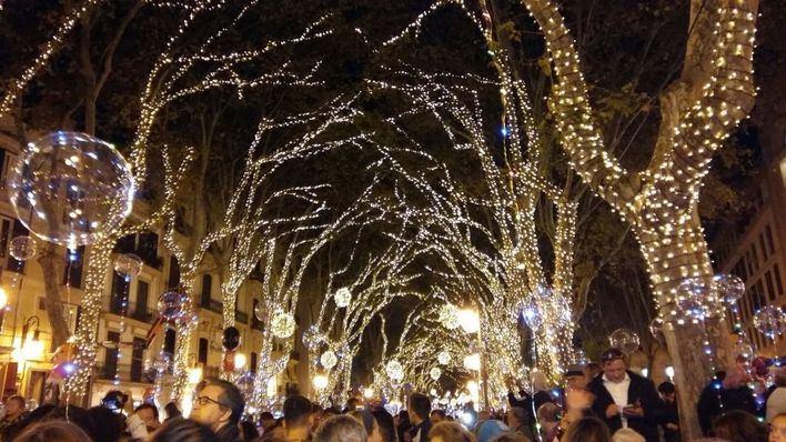 Palma no celebrará este año el tradicional encendido de luces de Navidad