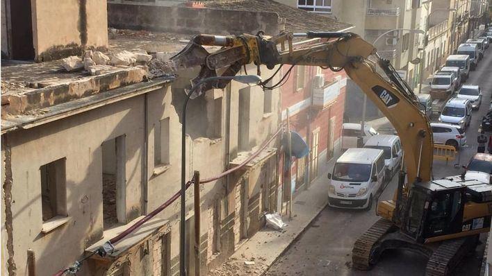 ARCA carga contra el Ayuntamiento de Palma por la demolición de un edificio del Eixample