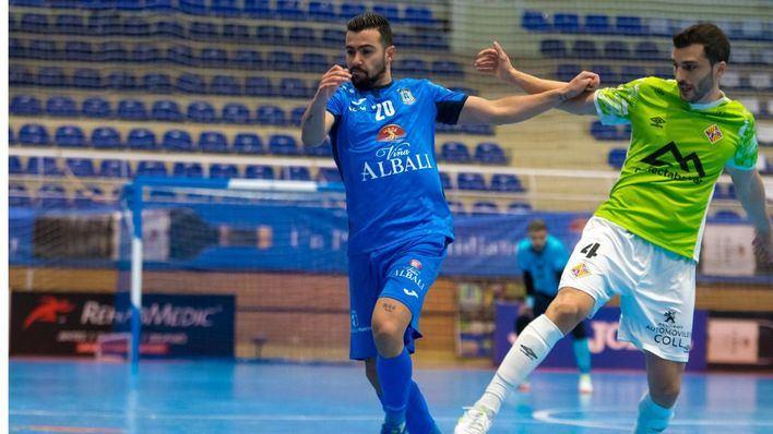 El Palma Futsal sigue imbatido tras amarrar un empate sin goles en Valdepeñas