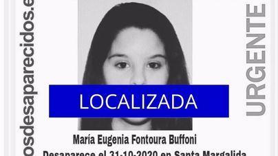 Localizan a la joven de 16 años que desapareció en Santa Margalida