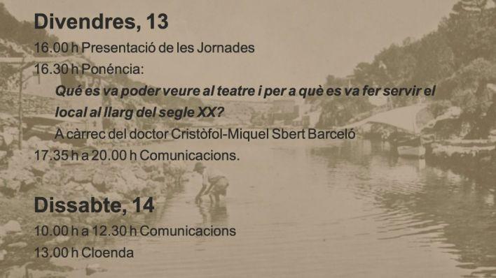 Todo listo para las IV Jornades d'Estudis Locals de Santanyí