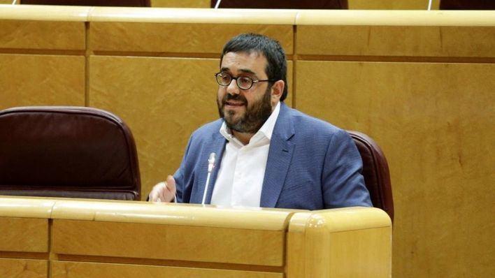 Vicenç Vidal se pone a disposición como senador del delegado del Frente Polisario en España