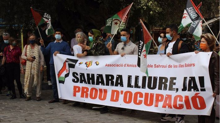 Los saharauis de Baleares piden 'hacer cumplir a Marruecos las resoluciones firmadas'