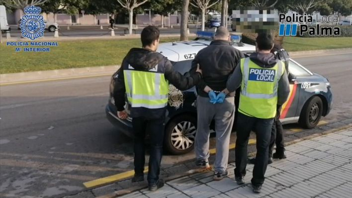 Seis años de cárcel y 400.000 euros por introducir tres kilos de cocaína en Palma