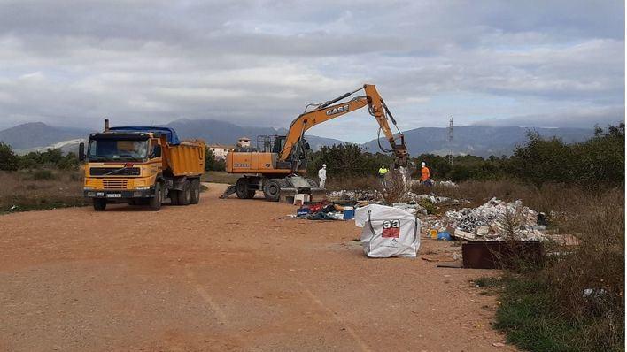 Inician la limpieza del camí de Morts en Marratxí