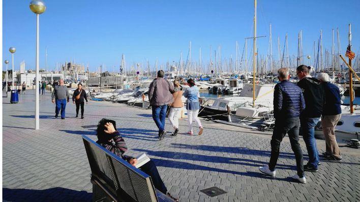 Descenso de temperaturas en Mallorca tras superarse el ecuador del mes de noviembre