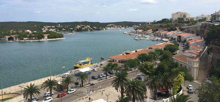 Menorca, incomunicada por mar a causa del temporal