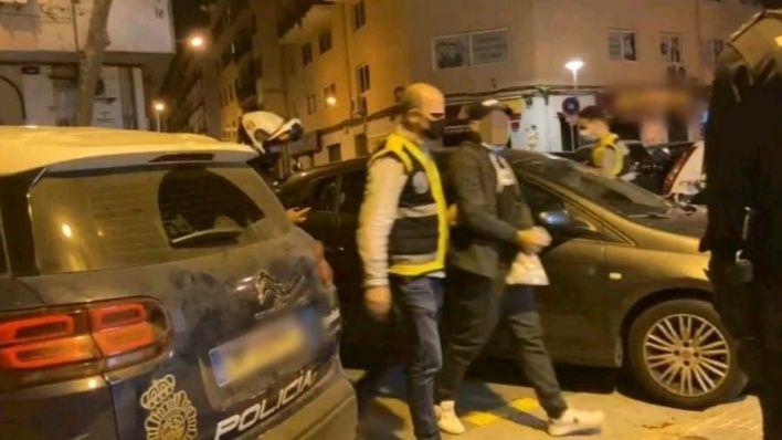 Arrestado el nieto de la Paca tras huir de Son Banya durante el altercado con la Policía Nacional