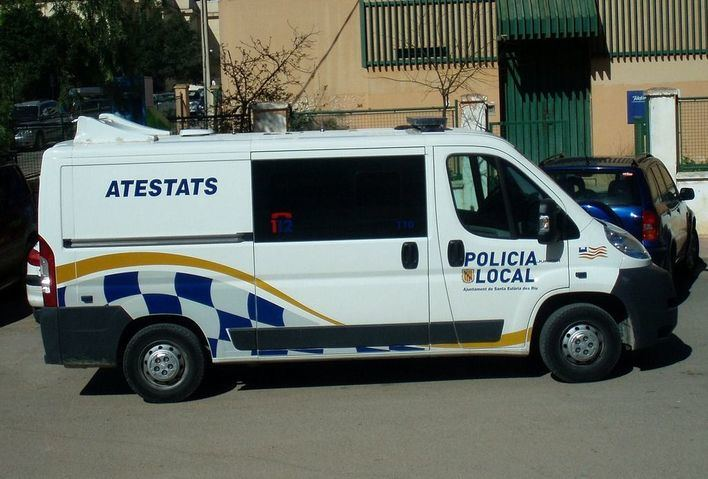 Detenido por atacar a un policía en Ibiza