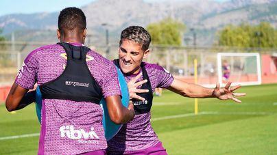 El Mallorca recibe este domingo al Sporting con toda la plantilla a disposición de García Plaza