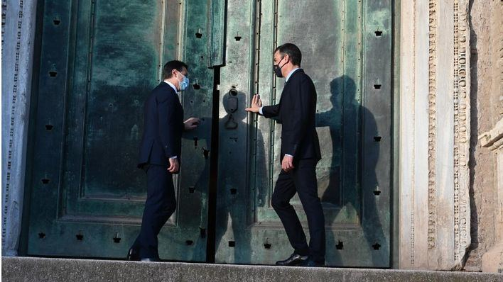 Cumbre entre España e Italia, este miércoles, en Palma, con la asistencia de Sánchez y Conte