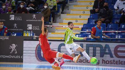 El Palma Futsal encaja ante el Industrias Santa Coloma la primera derrota de la temporada