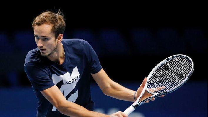 Medvedev afronta el partido contra Nadal 'con muchas ganas y confianza'