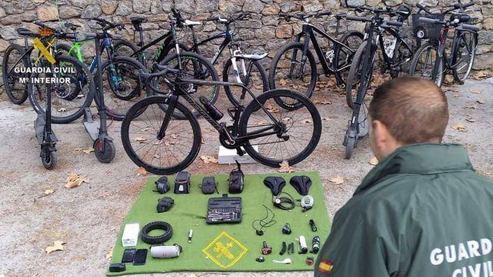 Detenido por robar bicicletas por toda Mallorca por un valor de unos 85.000 euros