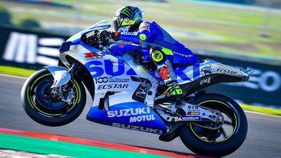Joan Mir aclara que su retirada del GP de Portugal ha sido por 'un problema con la electrónica de la moto'