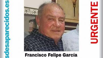Se busca a Francisco Felipe García, de 67 años, desaparecido en Palma desde el sábado
