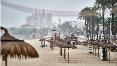 Tiempo estable en Baleares hasta el viernes, que llega un importante frente de lluvias