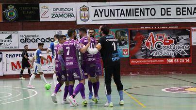 Paso adelante del Palma Futsal en la Copa del Rey tras eliminar al Atlético Benavente