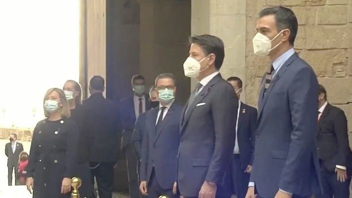 Sánchez y Conte presiden en Palma la XIX cumbre bilateral con 19 ministros
