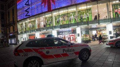 Dos heridos en un ataque yihadista con cuchillo en Suiza