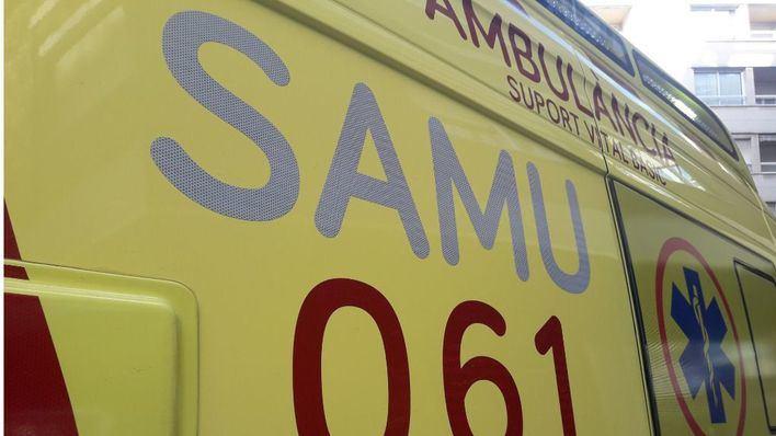 En estado crítico un motorista de 30 años tras sufrir un accidente en Sant Antoni de Portmany