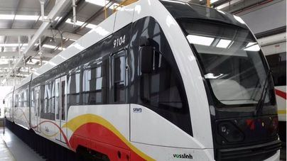El Metro de la UIB saldrá cada veinte minutos a partir de este jueves
