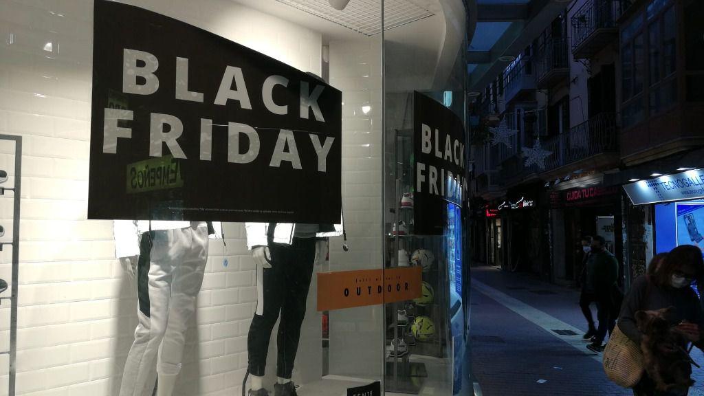 El Black Friday genera este año en Baleares 510 empleos, un 4,8 por ciento menos que en 2019