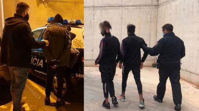 Tres detenidos por robos en locales y pisos de Santa Catalina, Cala Major y Pere Garau