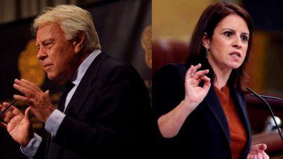 Felipe González a Adriana Lastra: 'Nadie me manda callar'