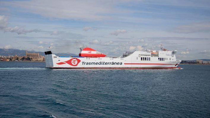 Trasmediterránea lanza la campaña 'Black Ferryday' con descuentos de hasta el 70 por ciento