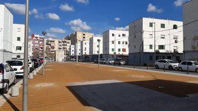 Cort concluye la reurbanización del solar del bloque VIII de Camp Redó