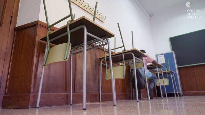 Baleares tiene 27 grupos escolares en cuarentena, un 0,33 por ciento del total