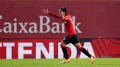 Luka Romero se convierte en el goleador más joven en la historia del Real Mallorca