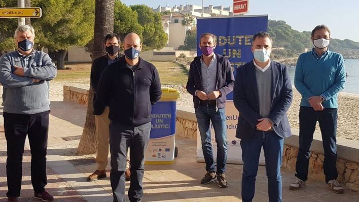 Ses Salines, segundo municipio, después de Palma, que se adhiere a la campaña 'Endute'n un plàstic'