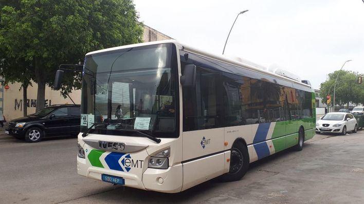 La línea de bus de Portopi se prolonga a partir de este martes hasta la calle Sindicat
