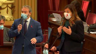 Gómez recrimina a Camps (PP) que viajase a Palma sin esperar a conocer al resultado de su PCR