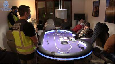 Desmantelan una timba clandestina en Palma con premios de hasta 120.000 euros