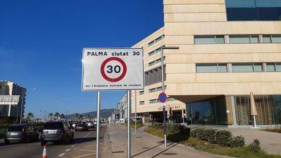 Estos son los cinco nuevos radares que controlarán Palma a 30 kilómetros por hora