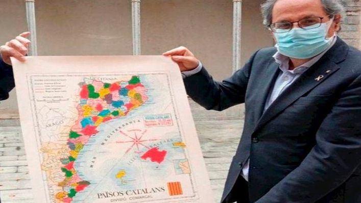 Sa Fundació pide que Armengol se pronuncie sobre la 'apropiación' de Baleares por Torra